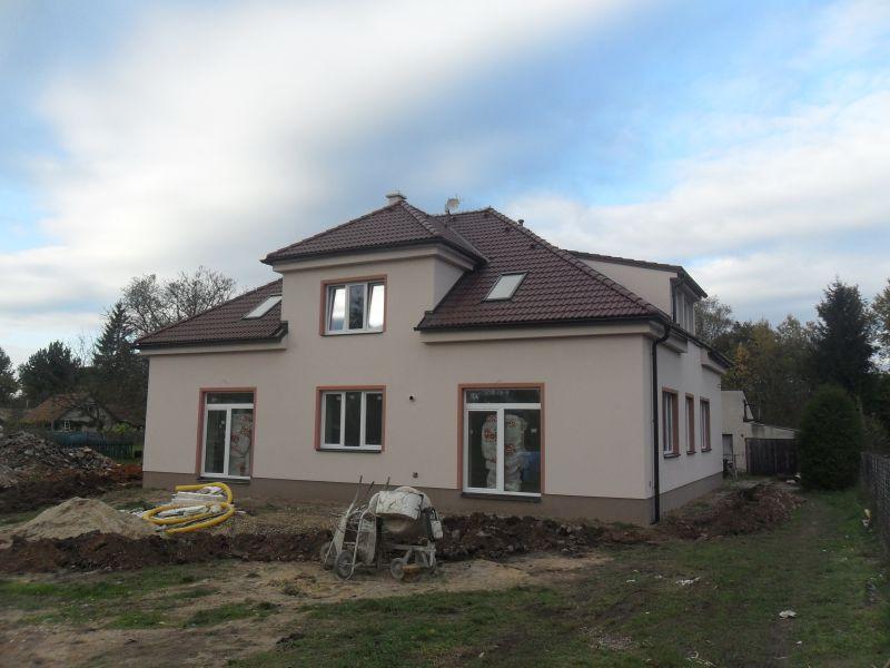 Rekonstrukce rodinného domu v Plotištích n.Labem.