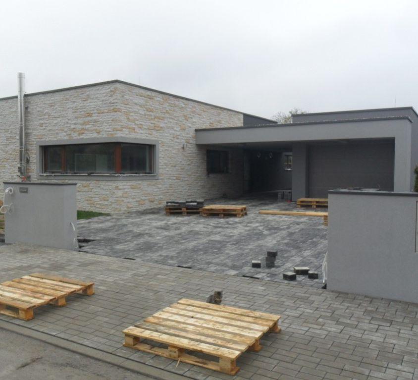 Výstavba rodinného domu v Roudničce